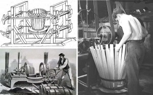 The mechanization of the barrel-making industry